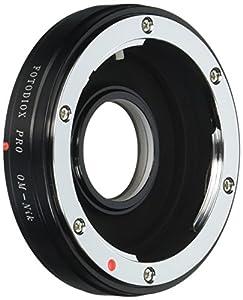 Fotodiox Pro Lens Mount Adapter - Olympus Zuiko (OM) 35mm SLR Lens to Nikon F Mount SLR Camera Body