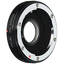 Fotodiox Pro Lens Mount Adapter, Selective 35mm Olympus Zuiko Lens to Nikon Camera such as D7200, D5000, D3000