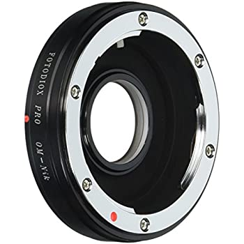 Fotodiox Pro Lens Mount Adapter Compatible with Olympus OM 35mm Film Lenses  to Nikon F-Mount Cameras