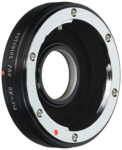 35mm Slr 35mm Lens Adapter (Fotodiox Pro Lens Mount Adapter - Olympus Zuiko (OM) 35mm SLR Lens to Nikon F Mount SLR Camera Body)