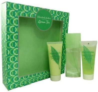 ELIZABETH ARDEN GREEN TEA EDP 100ML +B/L 100 ML+ S/G 100 ML SET REGALO: Amazon.es: Belleza