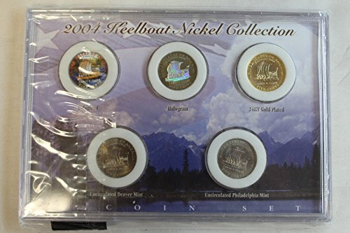 Genuine 2004 Keelboat Nickel Collection (CC2244)