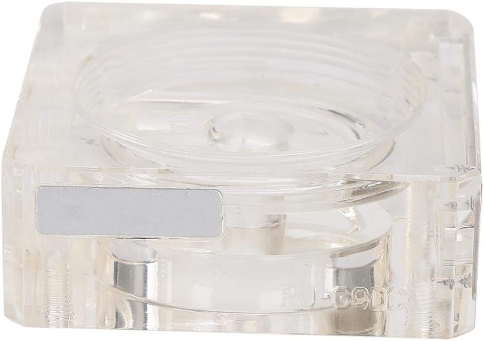 PJ-GCDCA2 Pump Mod Heatsink Cover Aluminium Alloy Durable DDC Water Pump Mod Heatsink Cover Kits G1//4 Hole