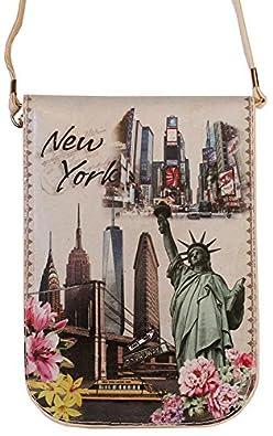 NEW YORK Souvenir Cellphone Travel messenger Crossbody Bag