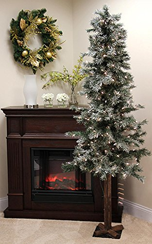 allstate-30871440-pre-lit-frosted-and-glittered-woodland-alpine-christmas-tree-with-clear-lights-7
