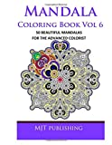 Mandala Coloring Book Vol 6, Mjt Publishing, 1500448710