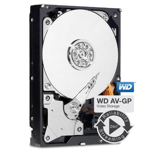 WD AV-GP 1 TB AV Video Hard Drive:3.5 Inch, SATA III, 64 MB Cache - WD10EURS