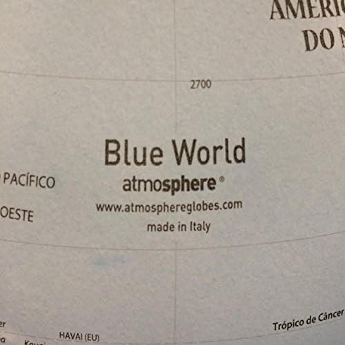 atmosphere - Globo Solid B, 30 cm, Color Azul (Mapiberia ...