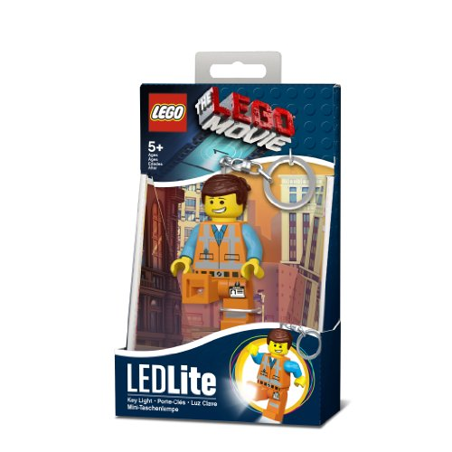 LEGO The Movie LEDLite Emmet LED Key Light Keyring