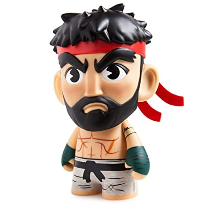V Figure Street Ryu ActionSpielfiguren Fighter pollici 3 Mini Kidrobot v8OynPN0mw