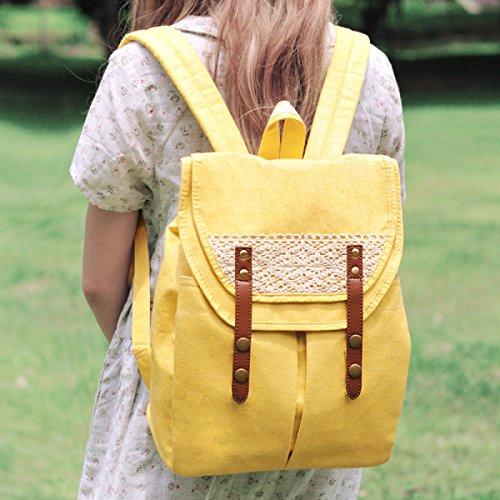 Studenten-Baumwoll- Und Leinenrucksack Ms. Lightweight Cloth Backpack