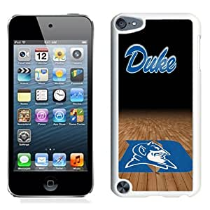 Personalized Ipod Touch 5 Case,Easy Use Ipod 5th Case Design with Duke Blue Devils Cell Phone Case for Ipod Touch 5 5th Generation in White
