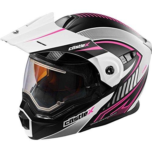 Castle X EXO-CX950 Apex Modular Electric Womens Snowmobile Helmets - X-Large