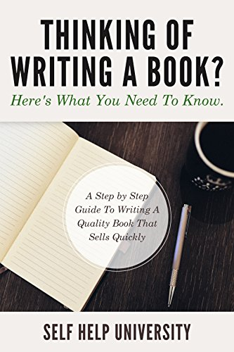 What to know when writing a book