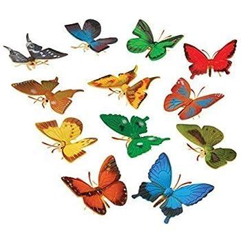 US Toy Mini Butterflies Action Figure (12 Pack)