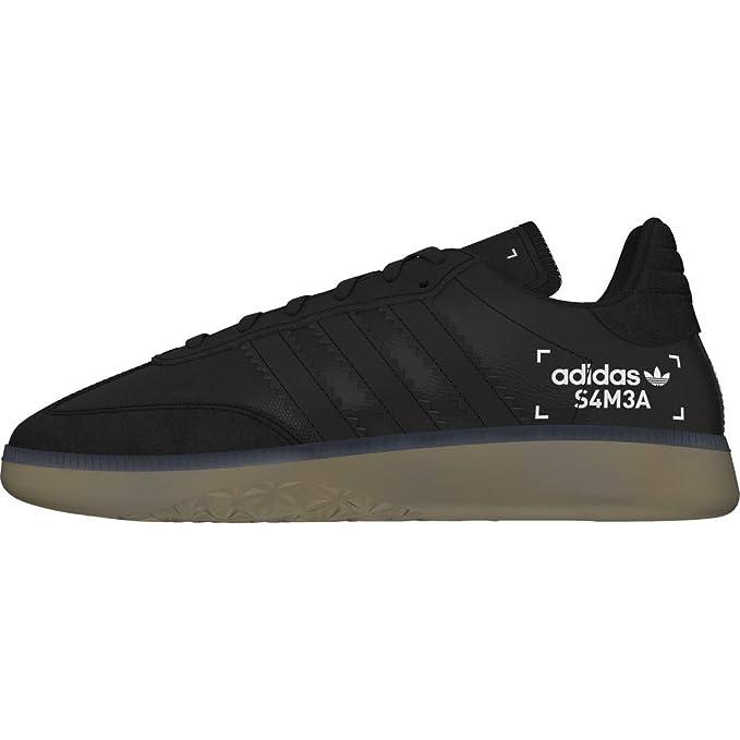 : Adidas Samba Rm Boys Sneakers Black: Clothing