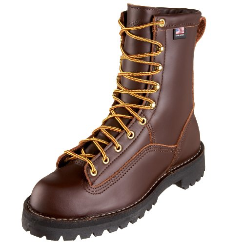 (Danner Men's Rain Forest Uninsulated Work Boot,Brown,9.5 EE US )