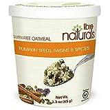 Nut Free, Gluten Free >>Pumpkin Seeds, Raisins and Spices Oatmeal Cup - Libre Naturals, 65 gram/2.3 oz x 12 cup pack