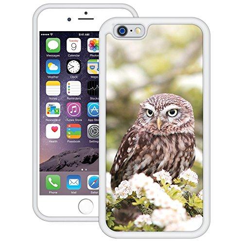 Eule | Handgefertigt | iPhone 6 6s (4,7') | Weiß Hülle