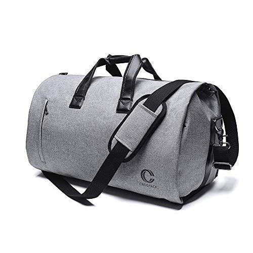 58eeedc71755 Crospack Suit Travel Bag Garment Bag with Shoulder Strap 2 in 1 Hanging Suit  Travel Bags