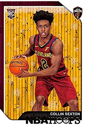 1d93c4f56ec 2018-19 NBA Hoops Holiday  280 Collin Sexton Cleveland Cavaliers RC Rookie  Basketball Card