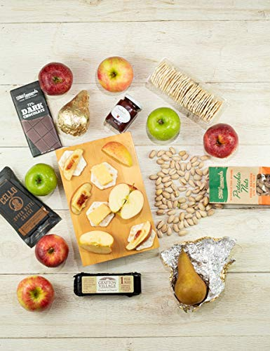 Stew's Signature Fruit & Cheese Basket - http://coolthings.us