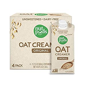 nutpods Oat Coffee Creamer by nutpods, Original 4-pack