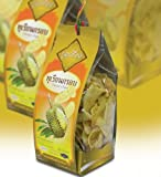 Boontiang Durian Chips, 100% Natural, Fruit Snack Low Fat, 250g.