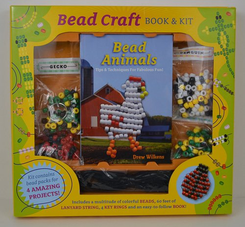 Bead Craft Book & Kit by Mud Puddle inc