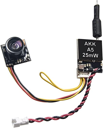 Akk A5 5 8ghz 25mw Fpv Transmitter 600tvl Cmos Micro Camera Support Osd Switchable Raceband For Quadcopter Drone Like Tiny Whoop Blade Inductrix