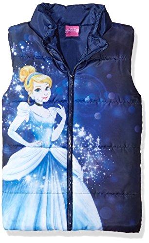 Disney Girls Cinderella Puffer Vest