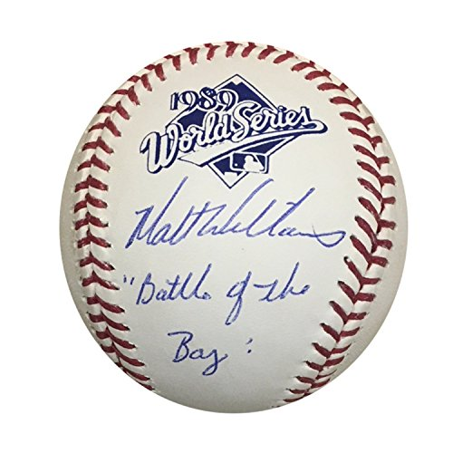 Matt Williams San Francisco Giants Autographed 1989 World Series Signed Baseball BATTLE OF THE BAY TRISTAR COA...
