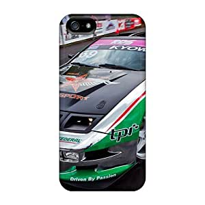 Protective Tpu Case With Fashion Design For Iphone 5/5s (cars)
