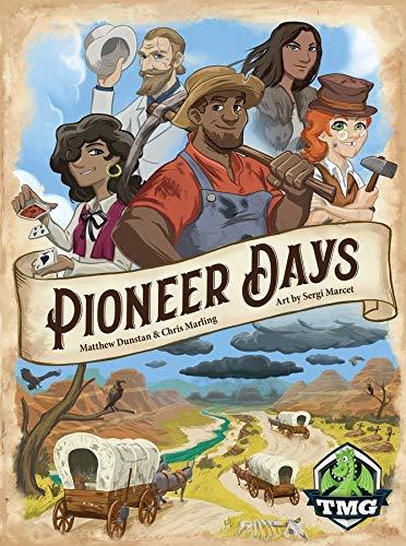 Tasty Minstrel Games Pioneer Days Board Game [並行輸入品] B07SGWPG1G