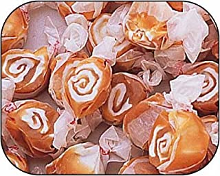 product image for Caramel Swirl Gourmet Salt Water Taffy 1 Pound Bag by Taffy Town