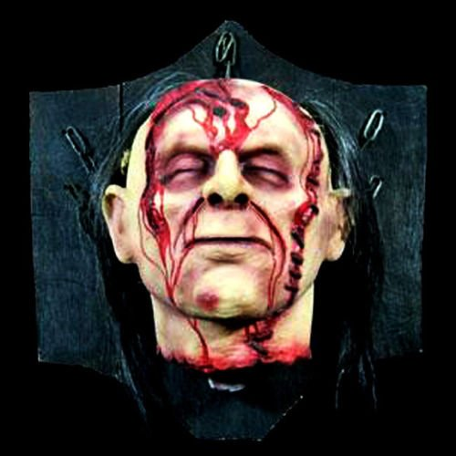 Bloody Severed Head Halloween Prop