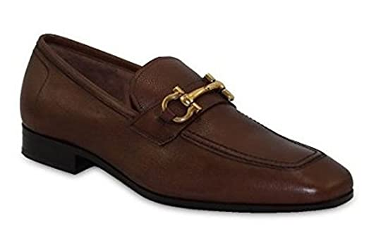 Men's 'Lou' Bit Loafer Brown (Radica) US Size 10D