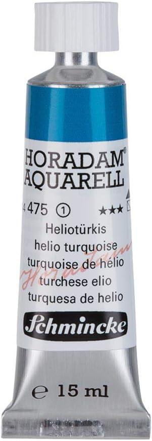 Schmincke Horadam シュミンケ ホラダム 透明水彩絵具 15mlチューブ ヘリオターコイズ