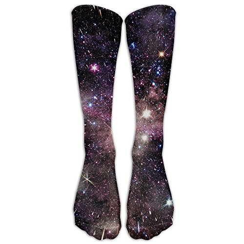- SARA NELL Shooting Star Galaxy Classics Stockings, Great Quality Knee High Tube Socks, Sports Long Socks For Men Women