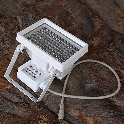 AjaxStore - 12V 96 LED Night Vision IR Infrared Illuminator Light Lamp for CCTV Camera 360 Degree Paranormal Ghost Hunting Equipment