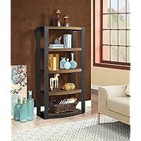 Whalen Furniture Santa Fe Storage Shelf and Audio Tower...