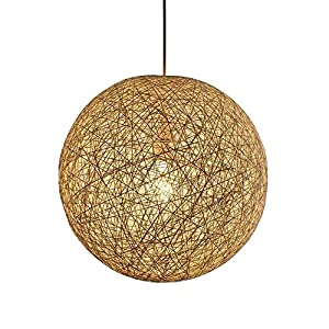 pendant lamps light fixture replacement shades anggo wicker rattan