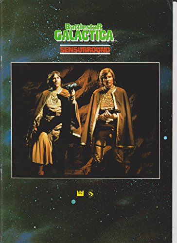 Battlestar Gallactica Sensurround 1979 Original Movie Program - NOT A DVD