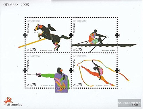 Portugal block265 (complete.issue.) 2008 Olympics Summer´08 Beijing (Stamps for collectors) Beijing 2008 Summer Olympic Games