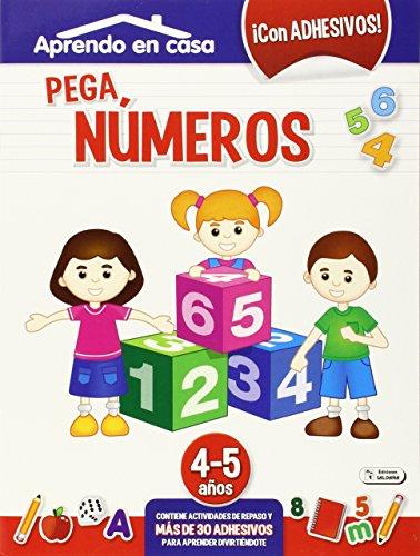 Pega Números. 4-5 Años