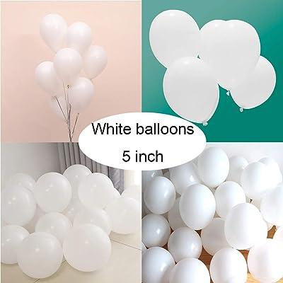 "5/""Inch metallic pearl Balloons baloon Birthday anniversary baby shower"