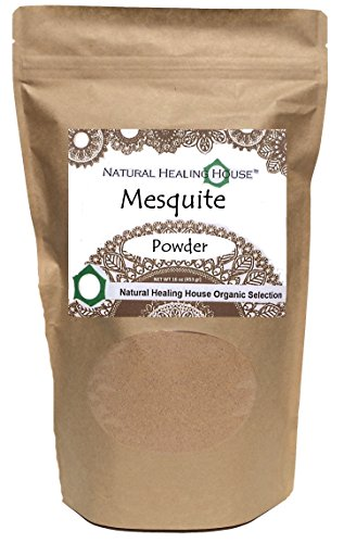 Natural Healing House Organic Raw Mesquite Powder 16 oz Mesquite Flour