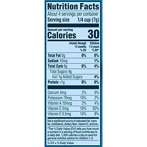 Gerber Graduates Fruit and Veggie, Melts Very Berry Blend, 1 Ounce (Pack of 7) by Gerber Graduates (Image #6)