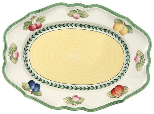 Platter Oval French (Villeroy & Boch French Garden Fleurence 14-1/2-Inch Oval Platter)
