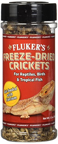 - Fluker's 72025 Freeze Dried Crickets, 1.2oz
